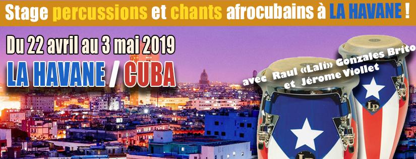 Stage à Cuba