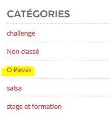 catégories du BLOG O TEMPO