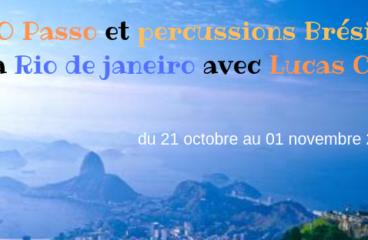 Rio de janeiro avec O Passo et percussions
