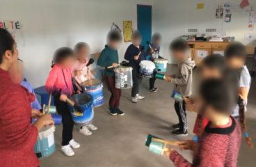 Education musicale avec O PASSO et écocitoyenneté «Range ta poubelle»